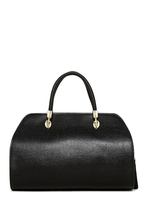 Natalie Leather Satchel Bag by Persaman New York in Jessica Jones