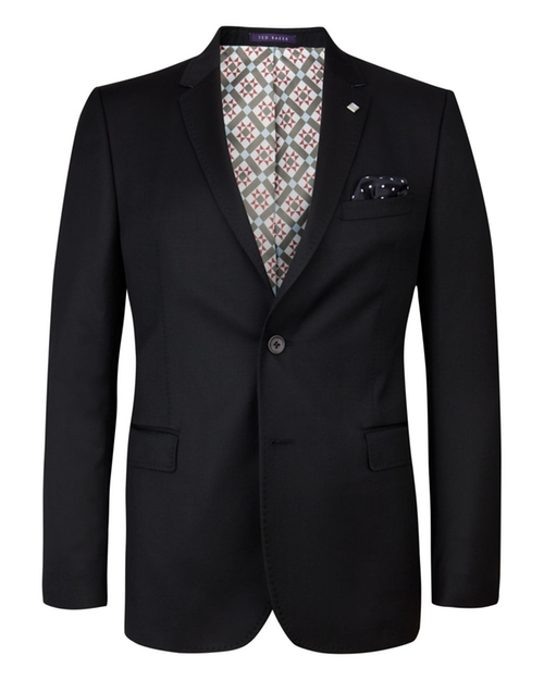 Wool Suit Jacket by Decjac in Black Mass