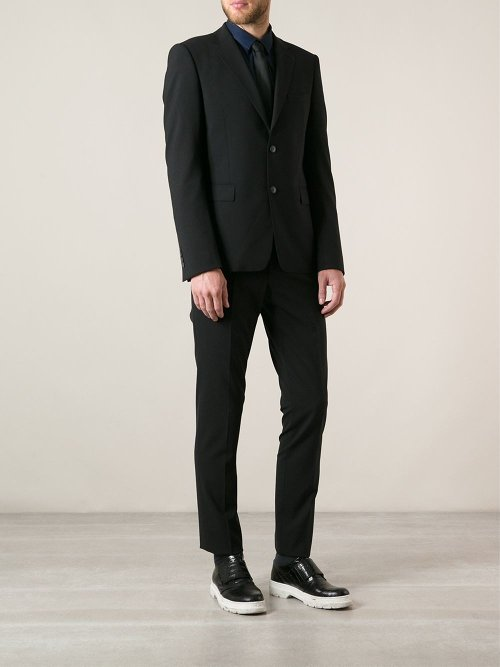 Formal Two Piece Suit by Kenzo in That Awkward Moment