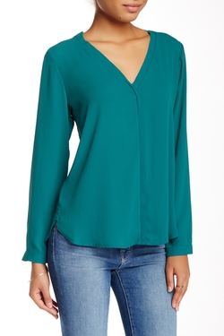 Raw Edge Blouse by Pleione in Modern Family