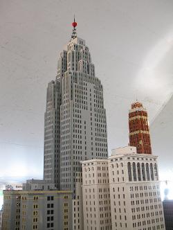 Detroit, Michigan, USA by Greater Penobscot Building in Brick Mansions