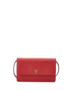 Saffiano Mini Crossbody Bag by Prada in Sex and the City