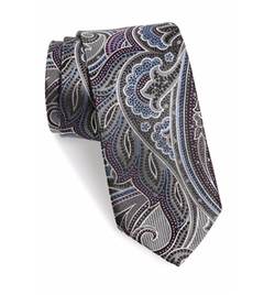 Paisley Silk Tie by J.Z. Richards in Gossip Girl