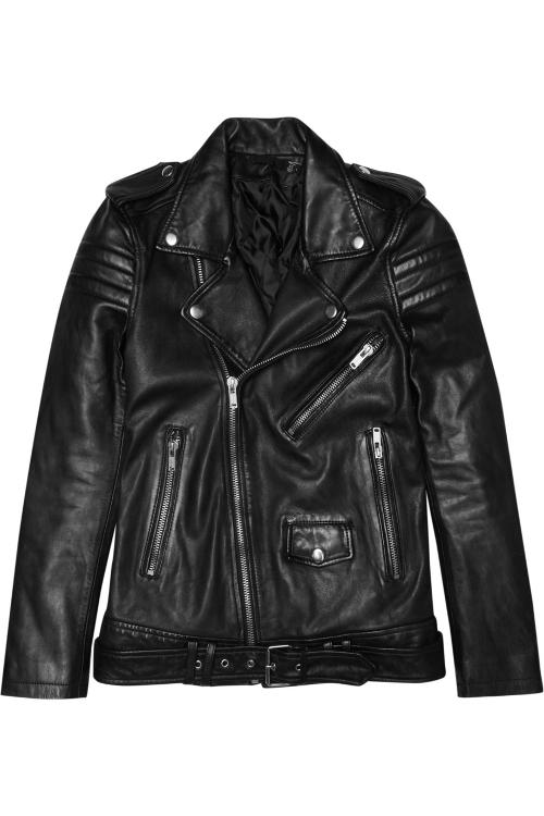 Leather Biker Jacket by BLK DNM in Terminator: Genisys
