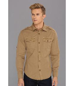 U.S. Army Fairway L/S Woven Shirt by Authentic Apparel in Addicted