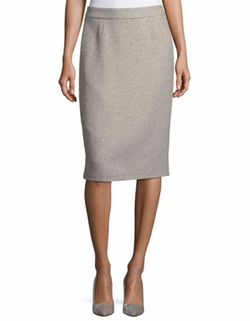 Ravas Sequined Tweed Pencil Skirt by Escada in Suits