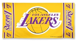 NBA Los Angeles Lakers Logo Beach Towel by Caseys in Daddy's Home