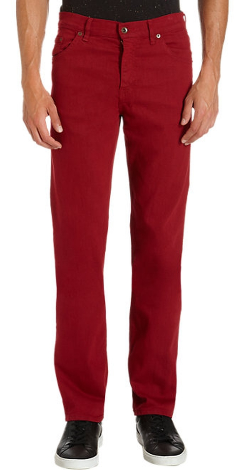 Jones Five-Pocket Straight Leg Jeans by Raleigh in Fight Club
