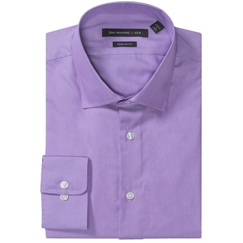 Cotton-Silk Dress Shirt by John Varvatos Star USA in Regression