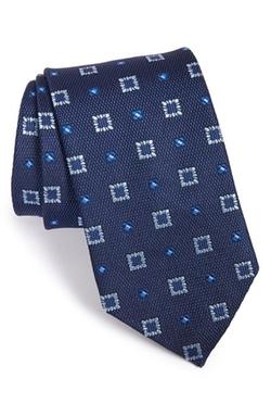 Geometric Silk Tie by David Donahue in The Blacklist