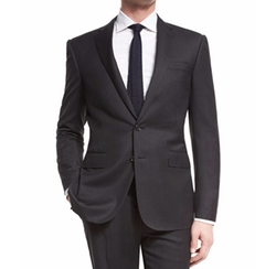 Anthony Trim-Fit Two-Piece Wool Suit by Ralph Lauren in House of Cards