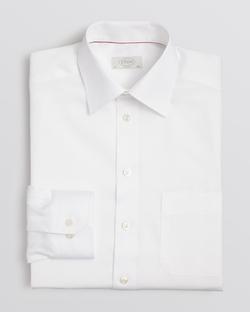 Solid Herringbone Dress Shirt by Eton in Hitman: Agent 47