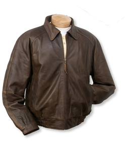 Classic Leather Jacket by Burk's Bay in Straight Outta Compton