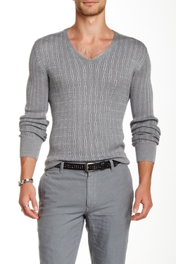 V-Neck Sweater by John Varvatos Collection in Ballers