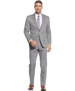 Solid Classic-Fit Suit by Lauren Ralph Lauren in The Hangover