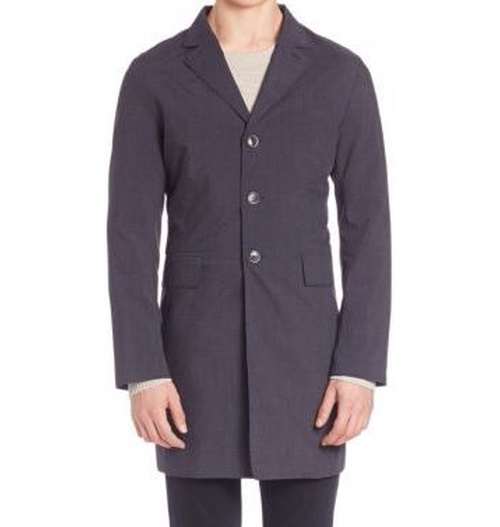 Wolger Technology Trench Coat by J. Lindeberg in Fantastic Beasts and Where to Find Them