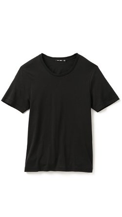 Classic Crew Neck T-Shirt by BLK DNM in While We're Young