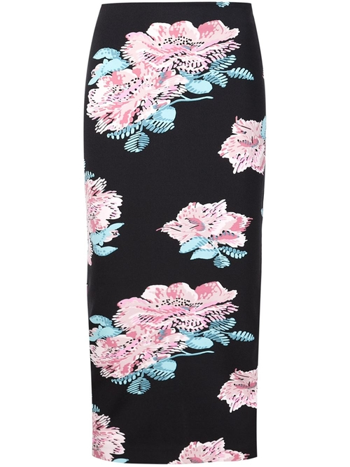 Floral Midi Skirt by Elizabeth And James in Focus