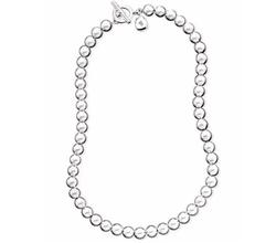 Silver-Tone Metal Bead Necklace by Lauren Ralph Lauren in The Boss