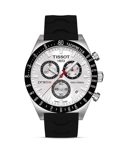 Silver Quartz Chronograph Sport Watch by Tissot in Ballers - Season 1 Episode 4