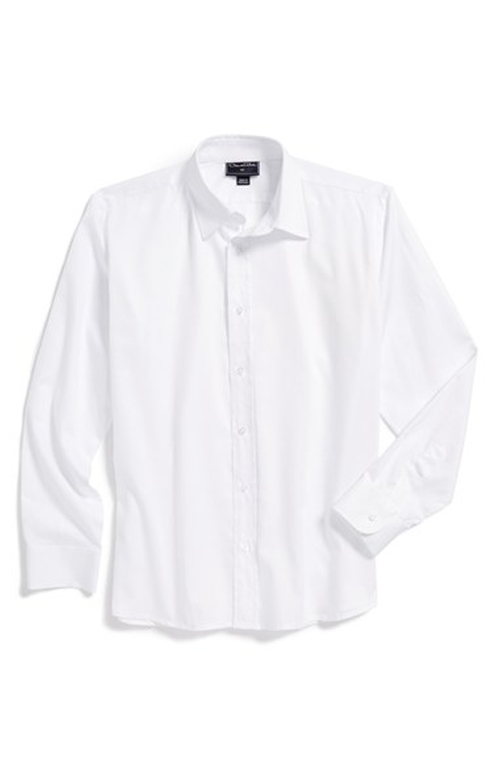 Long Sleeve Cotton Dress Shirt by Oscar de la Renta in The Hundred-Foot Journey