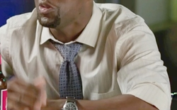 Custom Made Tonal Stripe Dress Shirt by Anto Beverly Hills in Central Intelligence