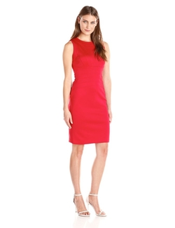 Solid Sheath Dress by Calvin Klein in The Flash