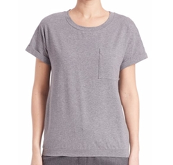 Embellished Pocket T-Shirt by Peserico in Santa Clarita Diet