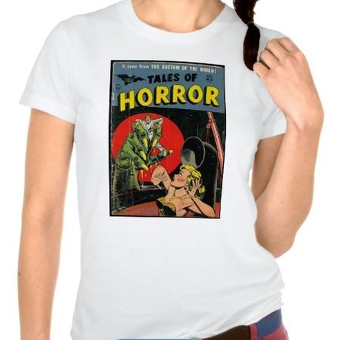 Tales Of Horror Comic T-Shirt by Zazzle Apparel in The DUFF