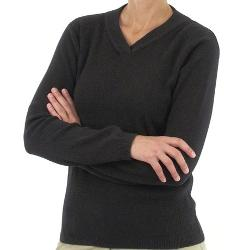 Venture Wool V-Neck Long Sleeve Sweater by ExOfficio in If I Stay