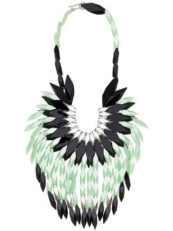 Peacock Feathers Necklace by Silvia Rossi in Sex and the City 2