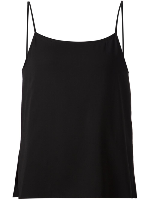 Side Slit Tank Top by Helmut Lang in Suits