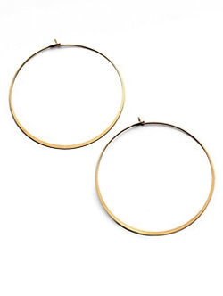 Thin Hoop Earrings by Michael Kors in X-Men: Apocalypse