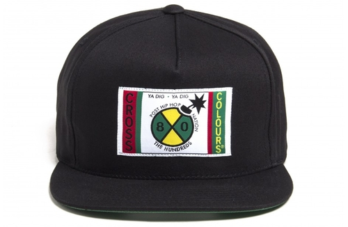 Cross Colours Snap-Back by The Hundreds in Dope