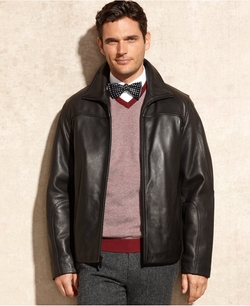 Leather Jacket by Calvin Klein in The Living Daylights