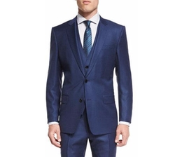 Hevans Three-Piece Wool Suit by Boss Hugo Boss in The Blacklist