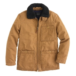 Boys' Shearling-Collar Ranch Jacket by J. Crew in Before I Wake