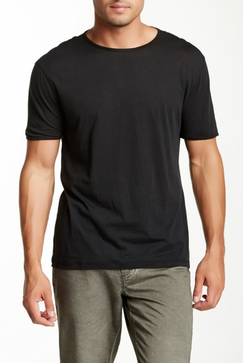 Short Sleeve Crew Tee by John Varvatos Collection in Boyhood