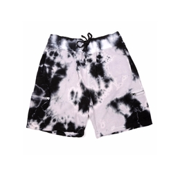 Black Tie Dye Cargo Shorts by Del Toro x Cotton Citizen in Keeping Up With The Kardashians