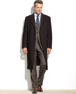 Columbia Cashmere-Blend Overcoat by Lauren By Ralph Lauren in That Awkward Moment
