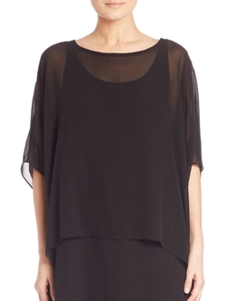 Silk Box Top by Eileen Fisher in Grace and Frankie
