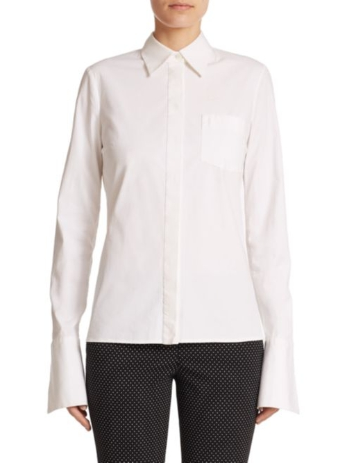 Button-Down Dress Shirt by Michael Kors Collection in Keeping Up With The Kardashians - Season 12 Episode 7