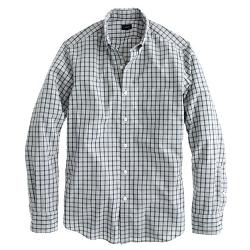 Secret Wash Shirt in Classic Check by J.Crew in Neighbors