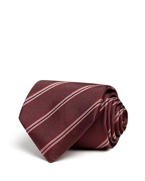 Diagonal Stripe Classic Tie by Armani Collezioni  in Supernatural - Series Looks