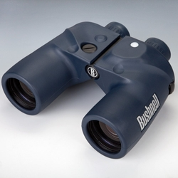 Marine with Illuminated Compass & Rangefinder Reticle Binoculars by Bushnell in Mr. & Mrs. Smith