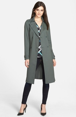 Belted Trench Coat by Trouvé in The Finest Hours