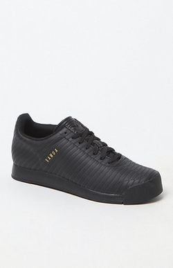 Black Samoa Sneaker Shoes by Adidas in The Heat