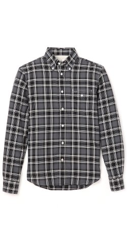 Herringbone Plaid Shirt by Hartford in That Awkward Moment