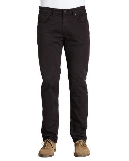 Kane Twill Pants, Dark Brown by J Brand Jeans in Step Up: All In