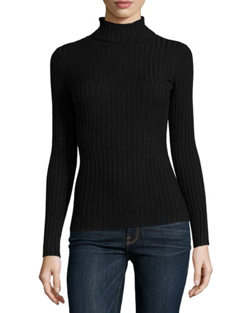 Wide-Rib Turtleneck Sweater by Metric Knits in Kill Bill: Vol. 1